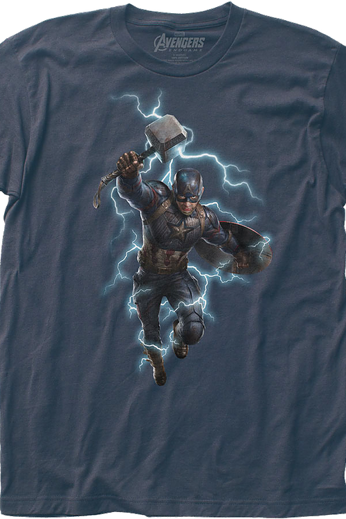 Captain America Shield and Hammer Avengers Endgame T-Shirt