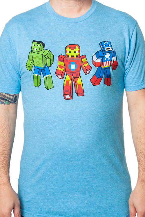 Avengers Blocked and Loaded T-Shirt