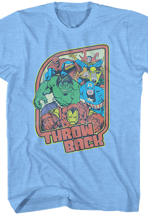 Marvel Comics Throw Back T-Shirt