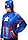 Iron Man and Captain America Reversible Costume Hoodie