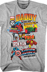 Marvel Comics Father's Day T-Shirt