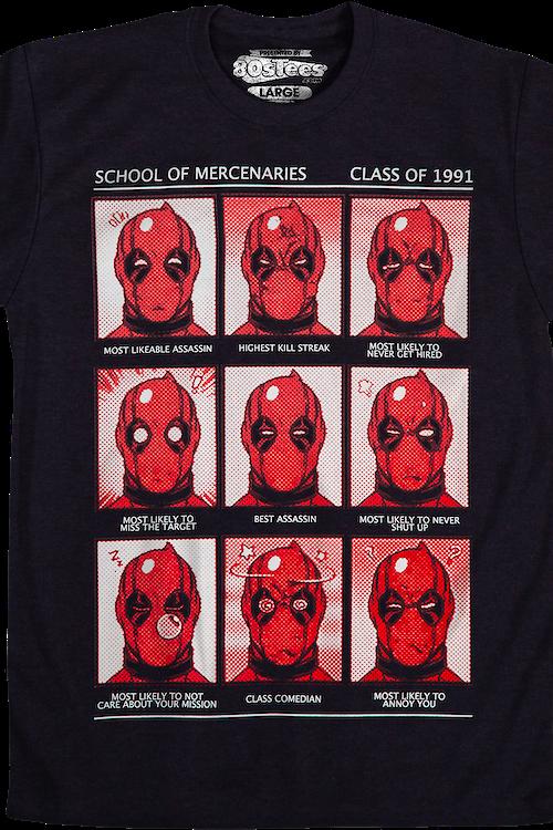 6d07ccd82 Deadpool School of Mercenaries T-Shirt: Deadpool Mens T-Shirt