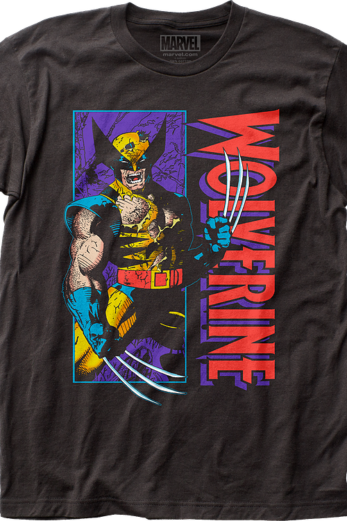 Jim Lee 1990s Wolverine T-Shirt