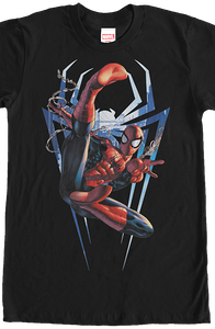 Logo and Spider-Man T-Shirt