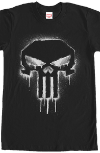 Spray Paint Punisher T-Shirt