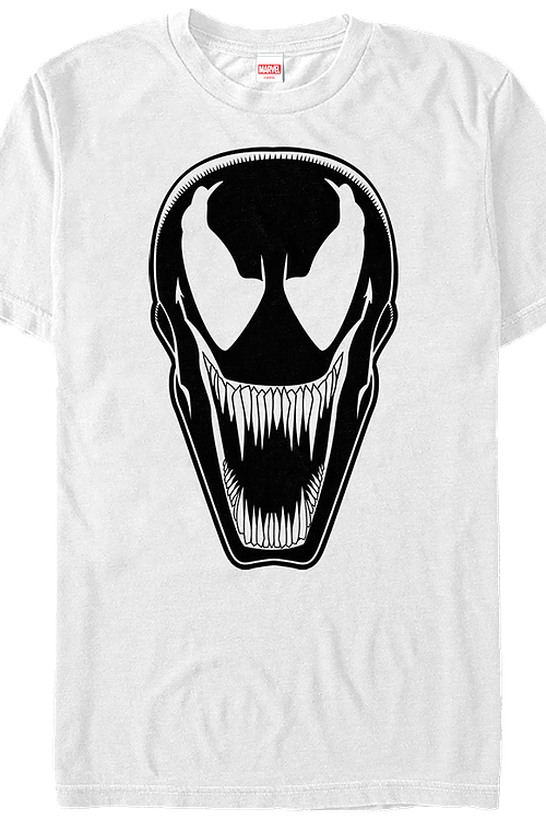 632a4fce White Venom T-Shirt: Marvel Mens T-Shirt