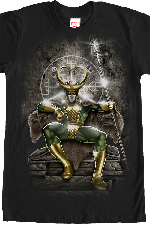 Marvel Loki Throne T-Shirt