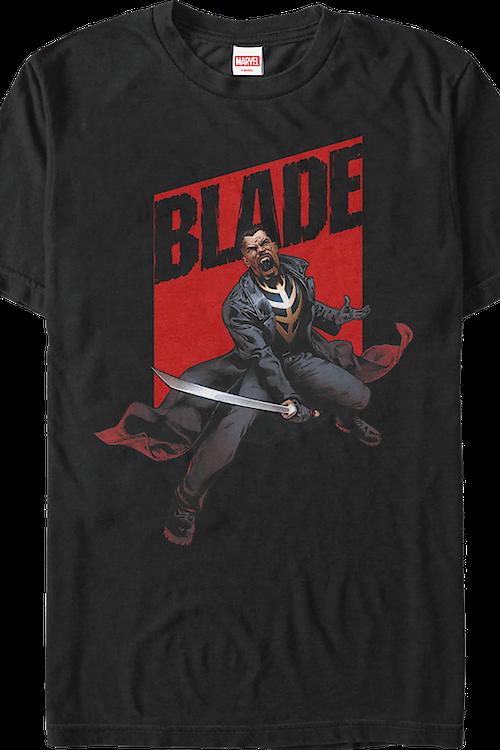 31bac0a2472feb Blade T-Shirt  Marvel Comics Mens T-Shirt