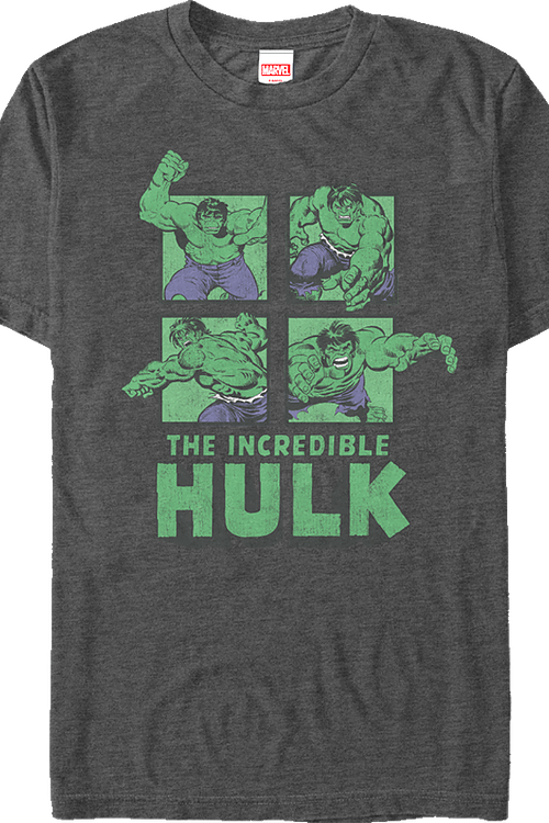Marvel Incredible Hulk Collage T-Shirt