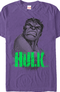 Marvel Incredible Hulk Sketch T-Shirt