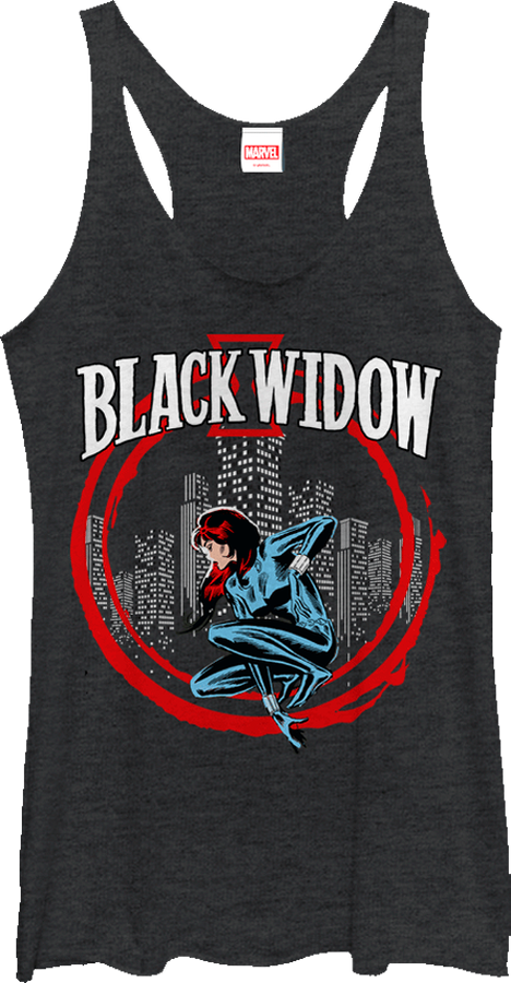 Ladies Black Widow Tank Top
