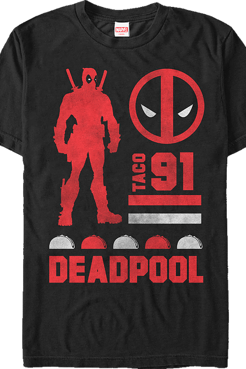 Taco Deadpool T-Shirt