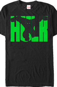 Marvel Incredible Hulk Block Letters T-Shirt