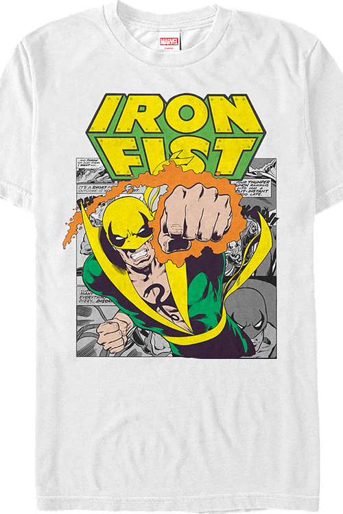 Iron Fist Comic T-Shirt