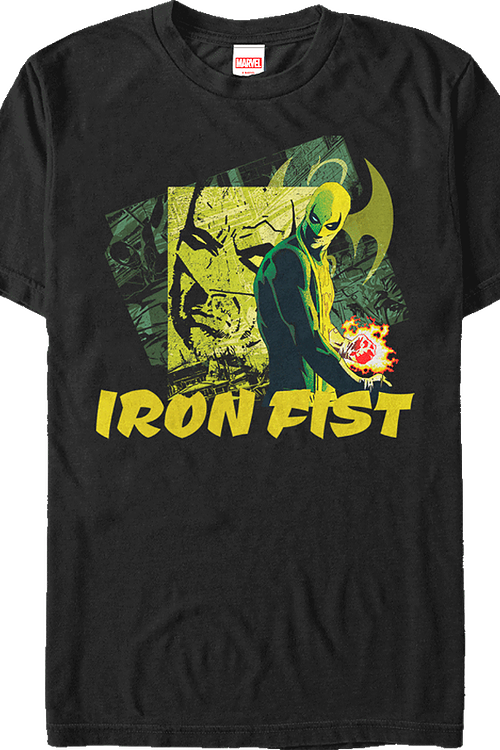 Collage Iron Fist T-Shirt