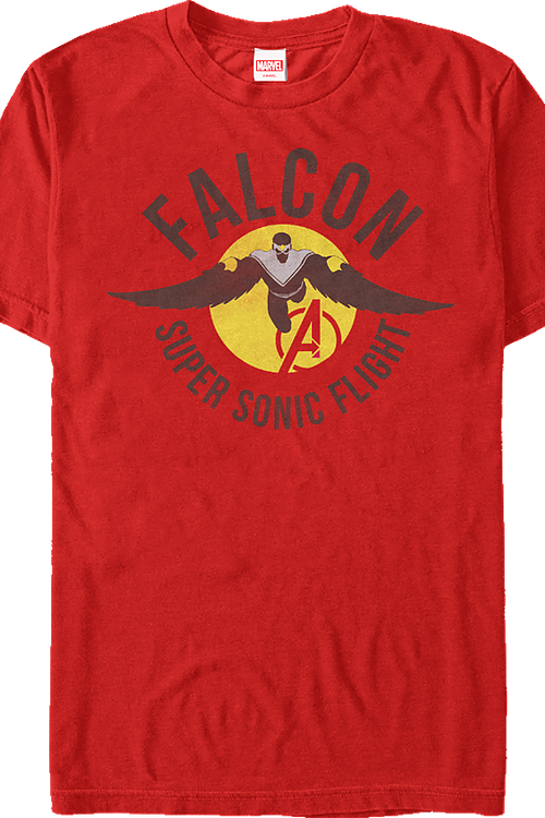 Super Sonic Flight Falcon T-Shirt