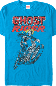 Hot Head Ghost Rider T-Shirt