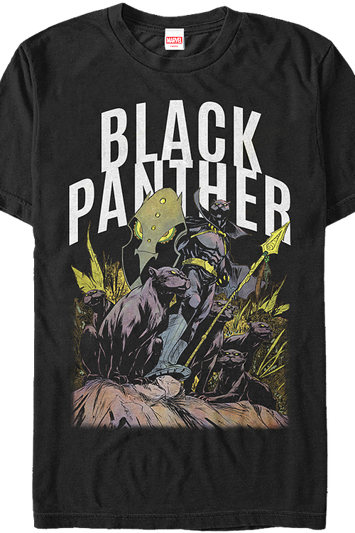 772727a4 King of Wakanda Black Panther Shirt: Marvel Mens T-Shirt