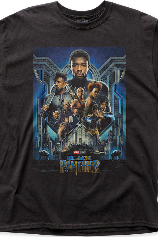 Cast Black Panther T-Shirt