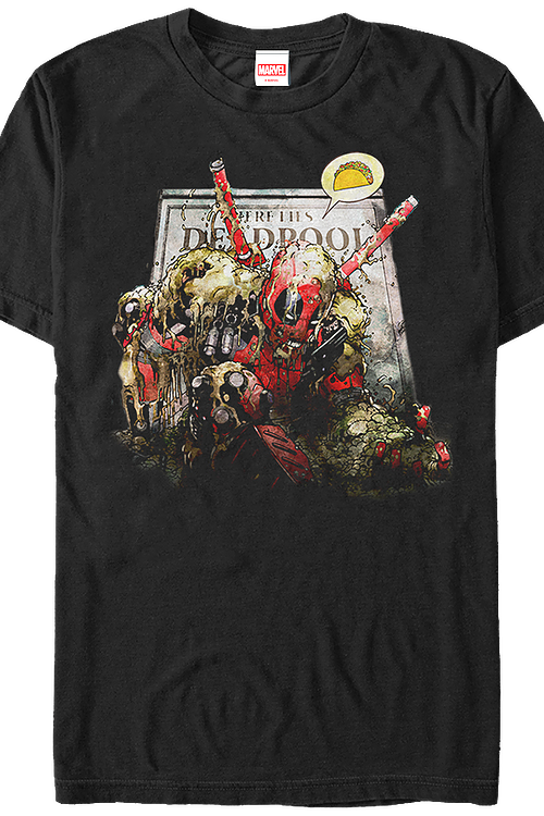 Up For Tacos Deadpool T-Shirt