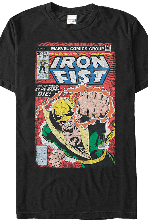 Like Tigers In The Night Iron Fist T-Shirt