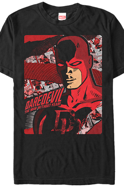 Comic Background Daredevil T-Shirt