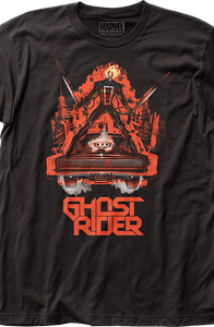 Hell Charger Ghost Rider T-Shirt