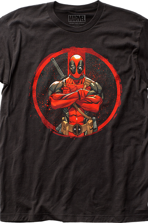 c07076d7e Arms Crossed Deadpool T-Shirt Marvel Comics