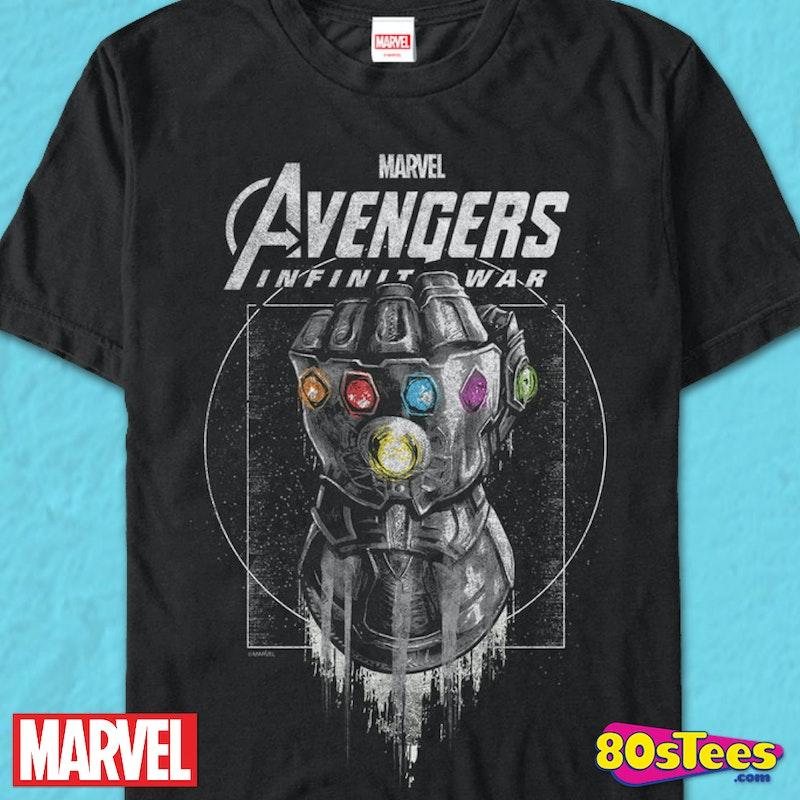 8da3d8a27ee Avengers Infinity War T-Shirt  Marvel Comics Mens T-Shirt