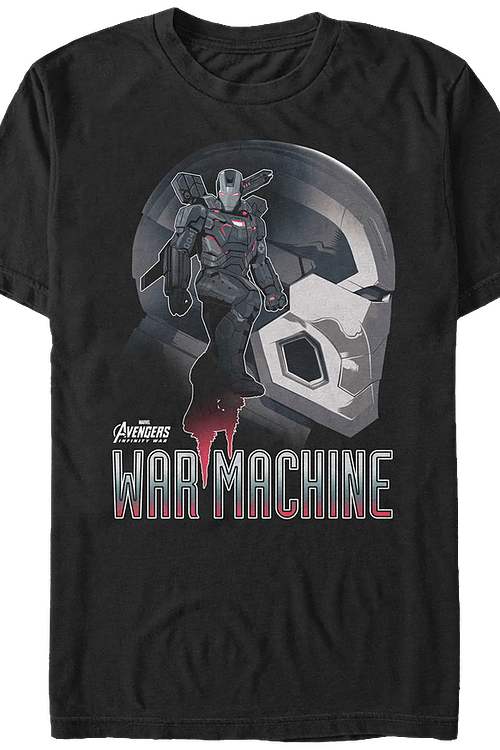 War Machine Avengers Infinity War T-Shirt