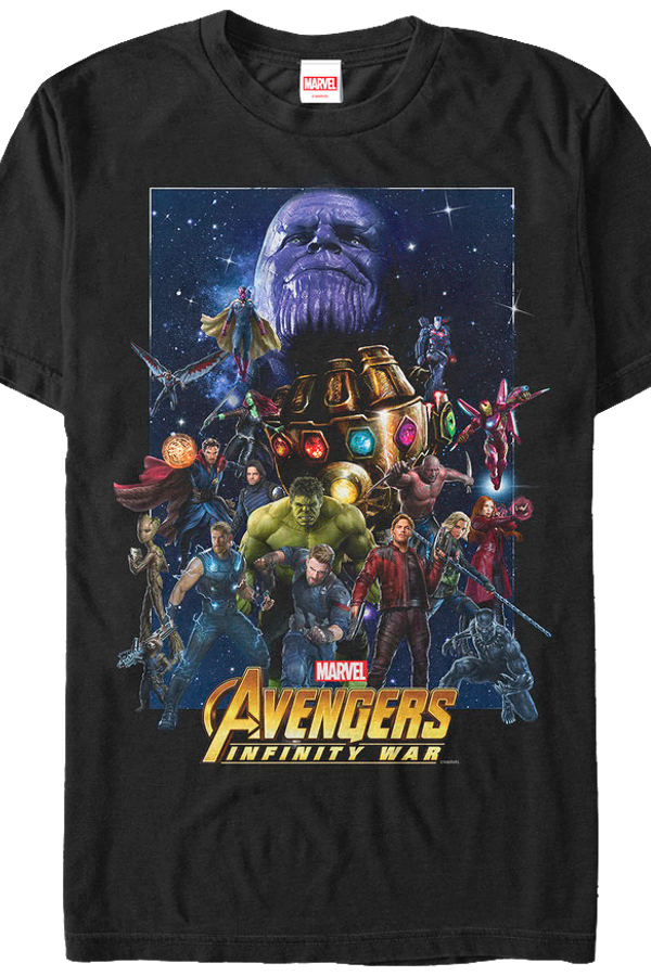 Cast avengers infinity war t shirt for Superhero t shirts india