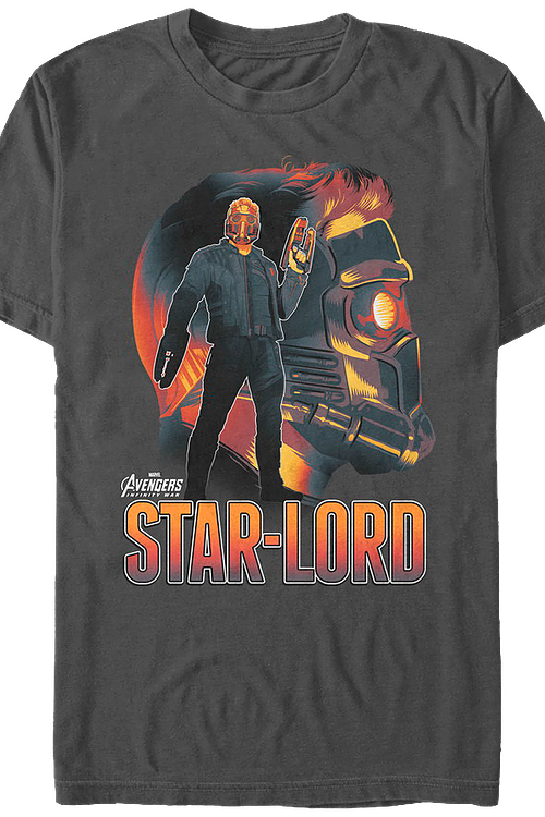 Star-Lord Avengers Infinity War T-Shirt