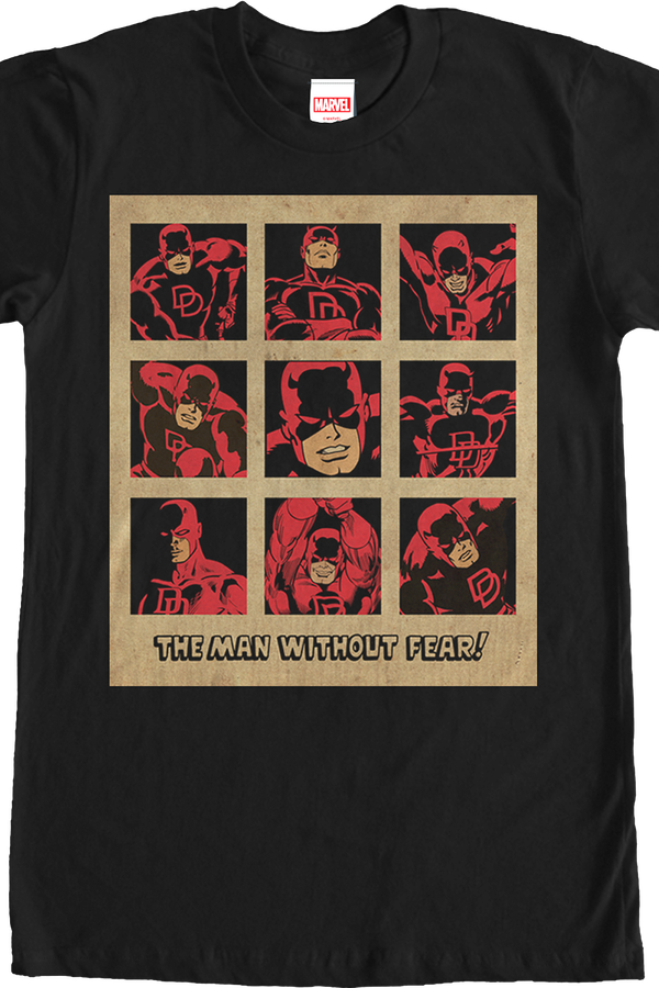 The Man Without Fear Daredevil Shirt