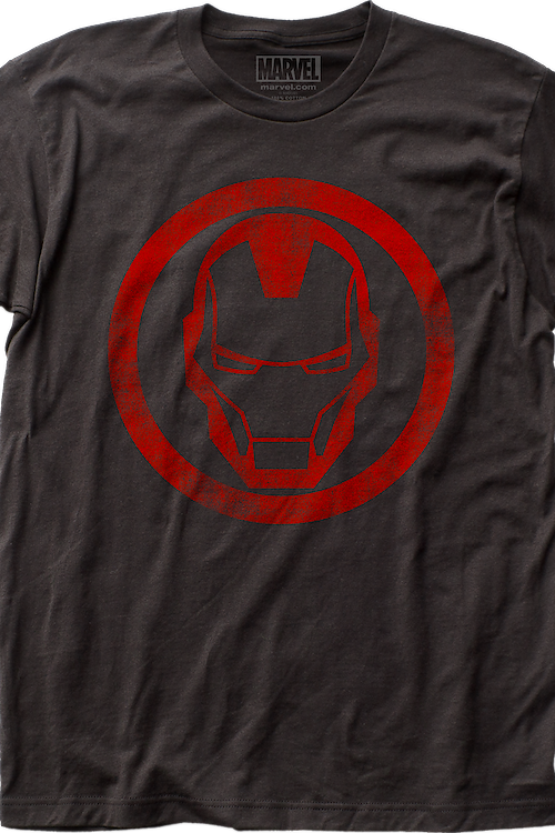 Helmet Icon Iron Man T-Shirt
