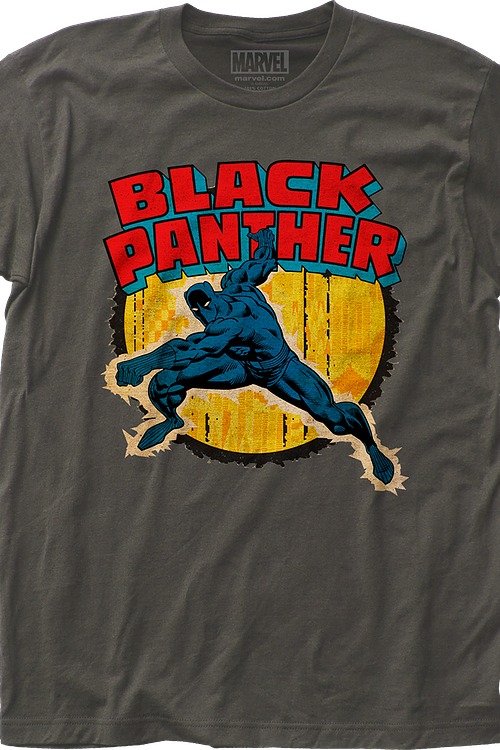 Punching Black Panther T-Shirt