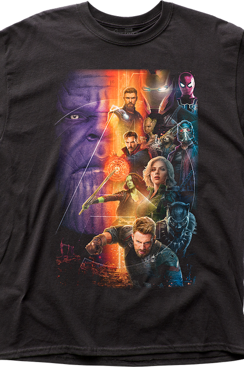 Movie Poster Avengers Infinity War T-Shirt