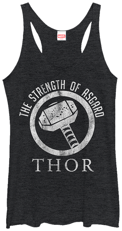 Ladies Strength of Asgard Thor Tank Top