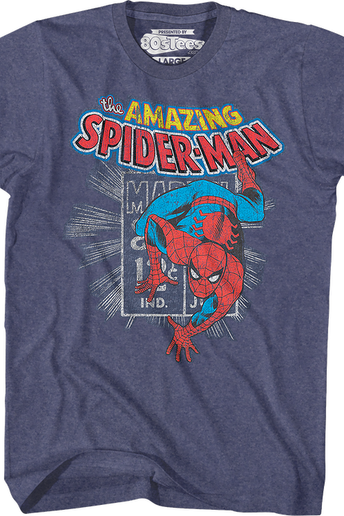 Marvel Stamp Spider-Man T-Shirt