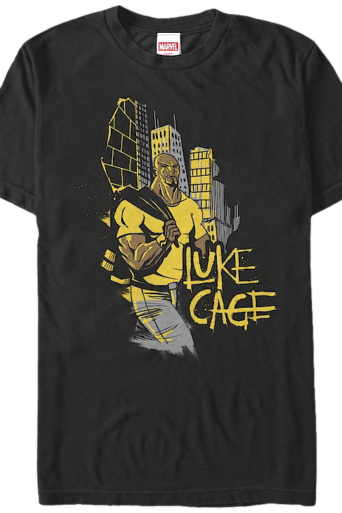 Hero for Hire Sketch Luke Cage T-Shirt