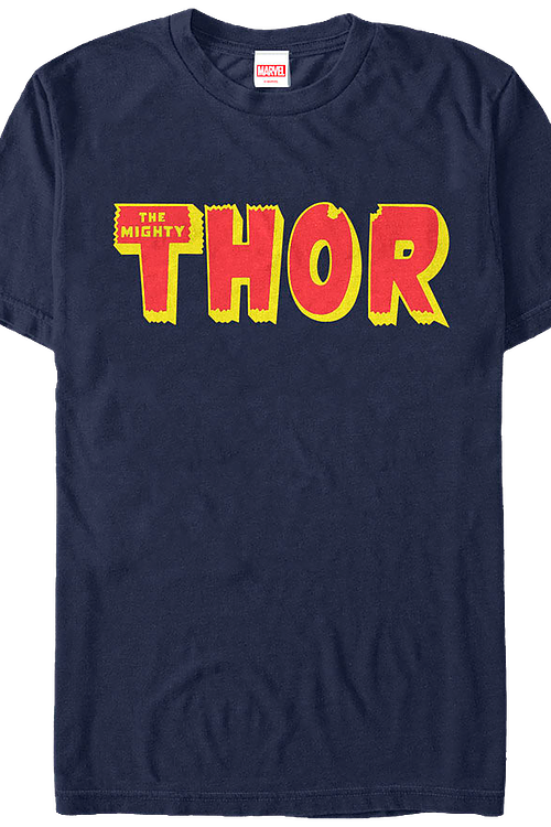 Thor Logo Marvel Comics T-Shirt