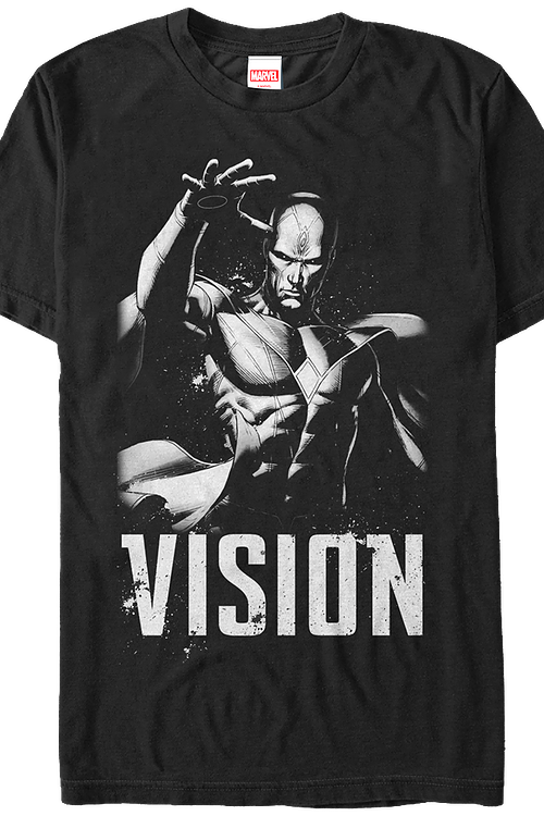 Black and White Vision Marvel Comics T-Shirt