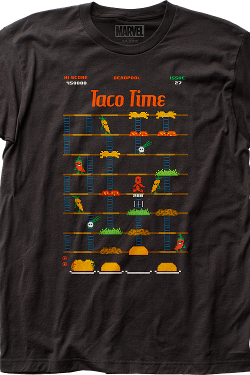 Taco Time Deadpool T-Shirt