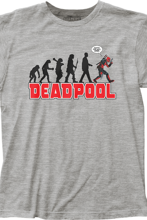 bccf549d3 Evolution Deadpool T-Shirt Marvel Comics