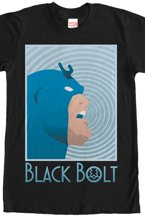 Channeling Powers Black Bolt T-Shirt