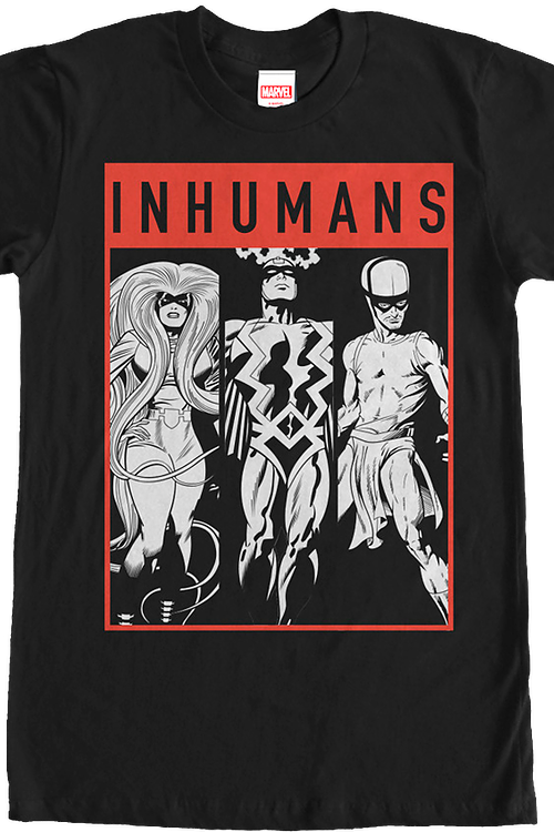 Sketches Inhumans T-Shirt
