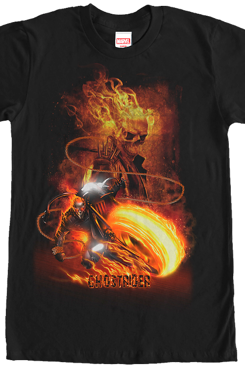 Collage Ghost Rider T-Shirt