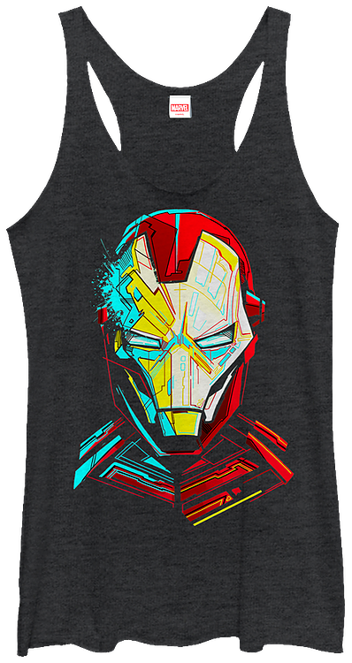 Ladies Iron Man Tank Top