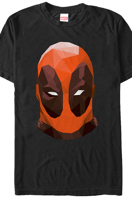 Deadpool's Mask Marvel Comics T-Shirt