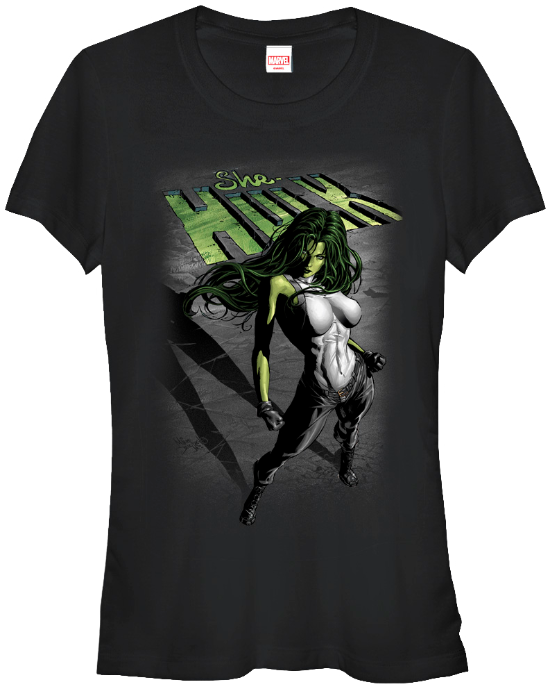 Marvel Girls The Savage She-Hulk T-Shirt