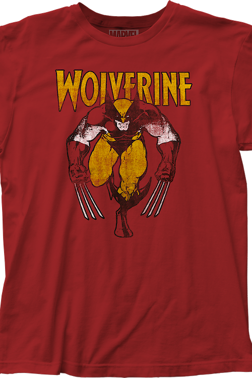 Distressed Wolverine T-Shirt